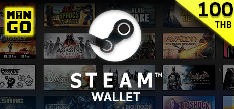 Steam Wallet 100 Baht