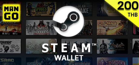 Steam Wallet 200 Baht